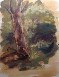 Tree Trunk Study — Emma Fern Curtis