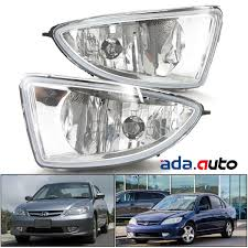 How To Install Fog Lights On Honda Civic 2005 Details About 2004 2005 Honda Civic Jdm Style Clear Fog Lights Wiring Harness Toggle Switch