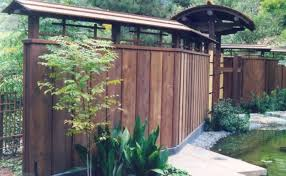 Perfect Landscaping Ideas With Wooden Japanese Fence Design For Asian Home  Decor