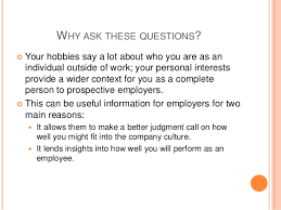 What Is Your Hobbies What Your Hobbies And Interests Say About You In A Job Interview Ge