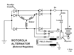 typical wiring diagram alternator and external voltage regulator alternator external regulator wiring alternator auto wiring on typical wiring diagram alternator and external voltage