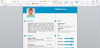 Free Resume Templates Download Template Modern Cv With 79