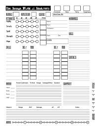 shadowrun 5 character sheet the savage world of shadowrun character sheet wrathofzombies blog
