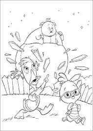 Small Picture Chicken Little Children Coloring Pages