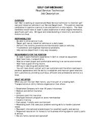 Auto Mechanic Job Description Job Description Auto Mechanic Assistant Stibera Resumes 8