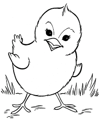 Small Picture Beautiful Chick Coloring Pages 15 For Your Coloring for Kids with