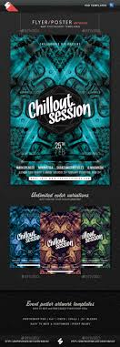 chillout session event flyer artwork template by sao108 chillout session event flyer artwork template clubs parties events