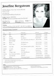 Free Actor Resume Template Simple Theater Resume CRXH Free Acting Resume Template Theatre Word Create