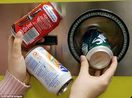 Reverse Vending Machines Interesting Reverse Vending Machines' Will Be Unveiled To Increase Recycling