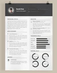 free resume template photoshop psd photoshop fre resume templates