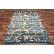 incredible contemporary blue gold orange agatha trellis area rug carpet hand inside blue and gold area rugs