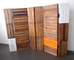 folding screen room divider in attractive display  wood floor