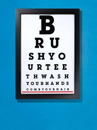 Eye Chart Poster Free Downloadable Bathroom Eye Chart Poster In 2019 Projects To