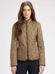 Lyst - Burberry brit Edgefield Quilted Jacket in Brown & Gallery Adamdwight.com