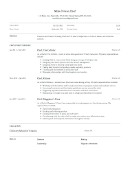 Pastry Chef Resume Sample Resume Samples For Cooks Cook Resume