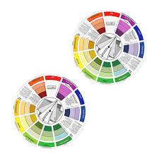 2 Permanent Makeup Color Wheel Accessory Tool Chart Colors