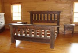 build your own bedroom furniture. Rustic Beds.02-reclaimed Wood Furniture- Build Your Own Bedroom Furniture