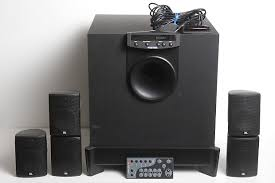 jbl home theater subwoofer. jbl esc 300 complete 5.1 home cinema system - 5 speakers and subwoofer jbl theater t