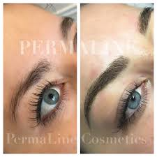 permanent makeup eyebrows microblading