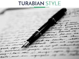 turabian style paper citation formatting  turabian style paper