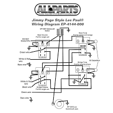 wiring kit gibson® jimmy page les paul complete reverb
