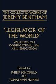 jeremy bentham works the collected works of jeremy bentham legislator of the world