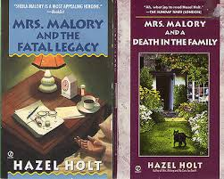 Partial Set Series - Lot of 8 Mrs. Malory Mysteries by Hazel Holt Sheila  Miss | eBay