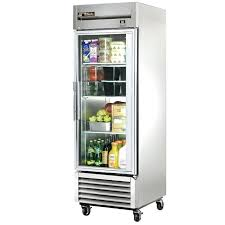 refridgerator glass door ft stainless steel 1 glass door refrigerator commercial glass door refrigerator used