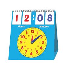 Walmart Time Clock Chart In 13851605 Time Flip Chart By Fun Express