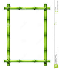 Green Bamboo Frame Stock Illustration Illustration Of Tropics