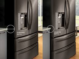 an in depth look at counter depth refrigerators