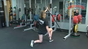 plyometric exercises and weight for softball kris maro