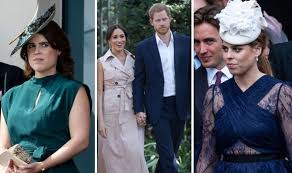 Princess eugenie and jack share first kiss. Meghan Markle News How Eugenie Snub Could Mean Harry And Meghan Dodge Beatrice S Wedding Royal News Express Co Uk