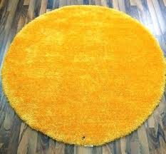 round yellow rug tom tailor soft gy sunflower circle rugs modern yellow rug small round yellow