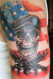 армейские татуировки силы специальных операций сша Si Vis Pacem