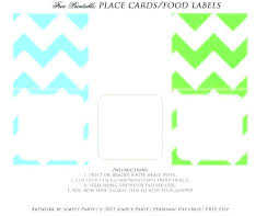 Table Labels Template Candy Label Template Jimbutt Info