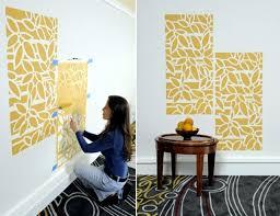 paint the walls 21 creative ideas wall templates including Easy Creative  Wall Painting Ideas