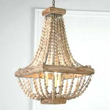 wood bead chandelier beaded lamp shades awesome diy