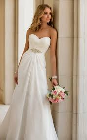 Beautiful Simple Country Wedding Dresses Cherry Marry
