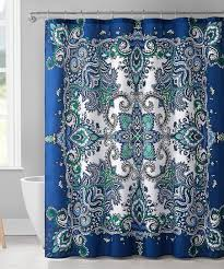 blue istanbul 13 piece shower curtain set