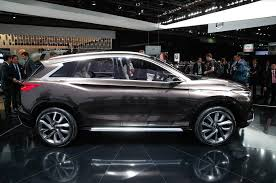 2018 infiniti qx50. wonderful 2018 2018 infiniti qx50 sighting shows detroit concept influence for infiniti qx50 n