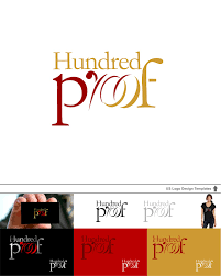 Graphic Design Proof Template Elegant Playful It Company Logo Design For Hundred Proof