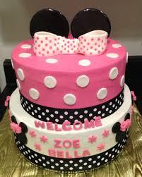 Minnie Mouse baby shower | Iwannaanacake.com | Pinterest | Minnie ...