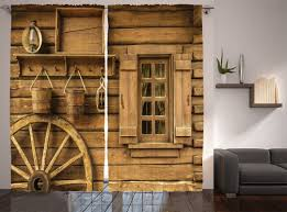 Western Living Room Curtains Western Curtains Dancing Cowgirl Design