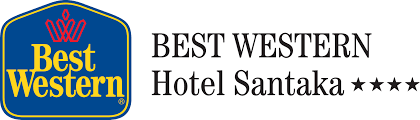Image result for best western santakos hotel logo