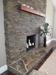 spaces stone fireplace hearth design pictures remodel decor and ideas page 2