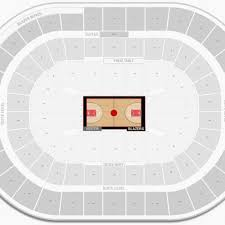 Hawks Seating Chart Quicken Loans Arena Seating Chart With Seat Numbers Fresh