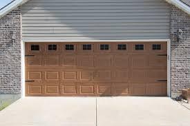 Decorative Magnetic Garage Door Window Panes & Hinges- Black (2 Car ...
