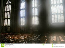diffused light through cathedral windows
