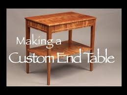 best wood for furniture making. Custom Curly Cherry End Table Building Process Doucette And Wolfe Furniture Maker Best Wood For Making E